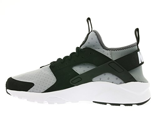 Wolf White NIKE Uomo Scarpe Air Grey Ultra Huarache cool black Run Grey Running Grigio vRBqv8w