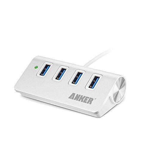 150 opinioni per Anker Hub portatile in alluminio 4porte USB 3.0con cavo USB 3.0di 61cm (in
