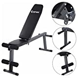 Adjustable Folding Sit Up AB Incline Abs Bench Flat Fly Weight Press Gym For Sale