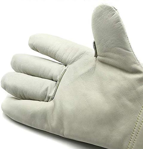 手袋 LNG給油所ドライアイス冷蔵専用/ 36cm用レザー不凍液ハンド低温抗液体窒素手袋 LMMSP