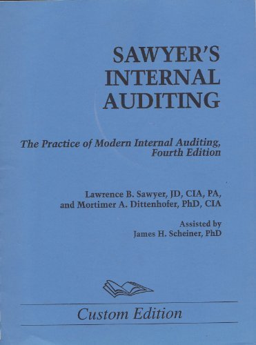 Sawyer's Internal Auditing: The Practice of Modern Internal Auditing