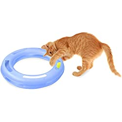 FAT CAT Crazy Circle Interactive Cat Toy