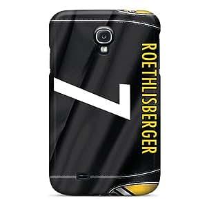 Samsung Galaxy S4 XVj5321wEnf Unique Design Trendy Pittsburgh Steelers Skin Shock Absorption Hard Cell-phone Cases -DrawsBriscoe