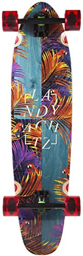 Landyachtz Maple Ripper Tropic Nights Floral Longboard Skateboard 2017 New (Landyachtz Longboard Skateboards)