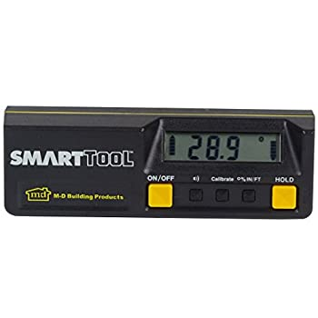 Image of Home Improvements M-D 92346 Smart Tool 6-Inch Digital Inclinometer