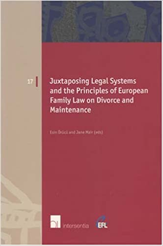 Juxtaposing Legal Systems and the Principles of European