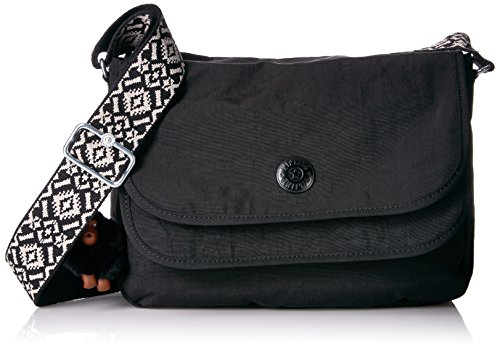 Kipling Brooklyn Go Solid Crossbody Bag with Guitar Strap