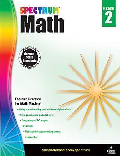 Spectrum Math Workbook, Grade 2 ()