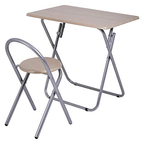 Executive Modular Desk (GJH One Folding Chair Desk Set Study Writing Table Kids Student Children Home School)