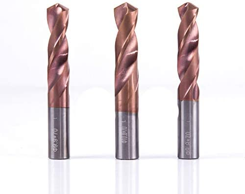 Alloy Tungsten Steel Twist Drill Super Hard Stainless Bit Straight Handle Solid Monolithic Drill For CNC Lathe Machine 5.0x60