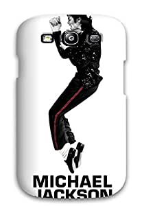 High Impact Dirt/shock Proof Case Cover For Galaxy S3 (michael Jackson Billie Jean )