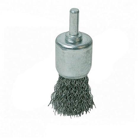 Steel 580432 Wire 22mm Silverline End Twist Brush