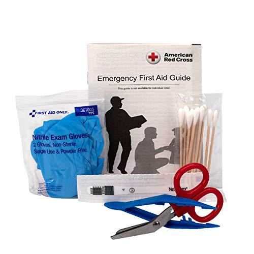 Botiquín de primeros auxilios solo para primeros auxilios, 299 piezas, estuche blando