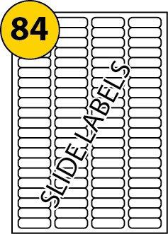 84Etichette per pagina x 100fogli, MS compatibile L7656compatibile, bianco vuoto multi funzione autoadesive, stampabile con fotocopiatrice, stampante laser o a getto d' inchiostro, 46mm x 11.1mm–un prodotto di marca LABELS4U ® TM