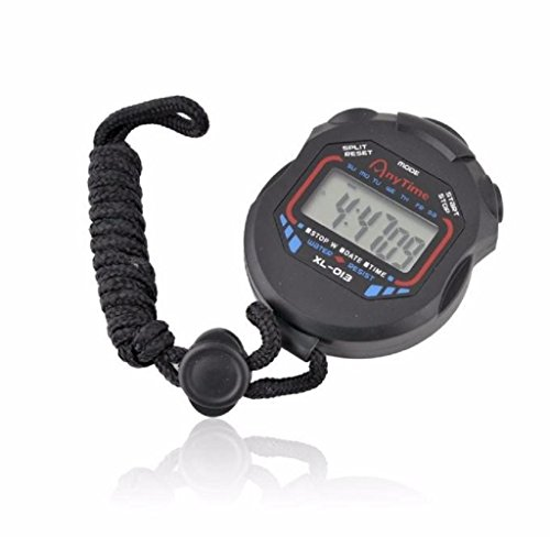 Tosangn Digital Professional Handheld LCD Chronograph Sports Stopwatch Timer Stop Watch