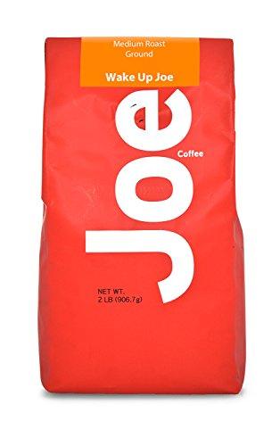 Joe Knows Coffee Wake Up Medium Roast Ground Coffee, 2 Pound