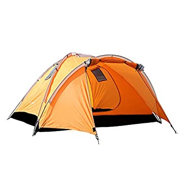 STAR HOME C&ing Tent Lightweight Waterproof Backpacking Tents Hiking 2 Person Tents 3 Size  sc 1 st  Amazon.com & Amazon.com: STAR HOME Camping Tent Lightweight Waterproof ...