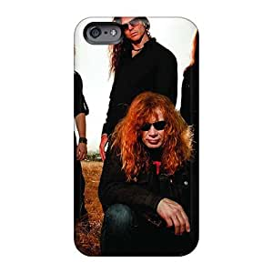 Iphone 6plus OQX1097ZLhI Megadeth Band Tpu Silicone Gel Case Cover. Fits Iphone 6plus