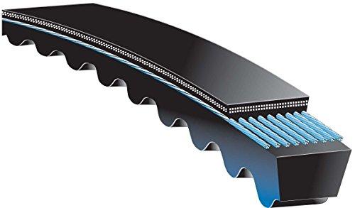 CARLISLE 5VX1320 Power-Wedge Cog Checkmate V-Belt, Rubber, 0.53