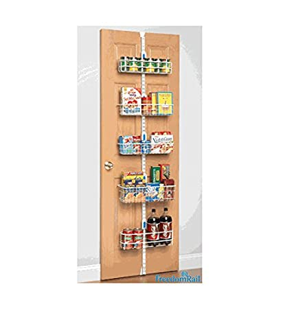 Brilliant Amazon Com Over Door Pantry Rack By Freedomrail Home Kitchen Download Free Architecture Designs Intelgarnamadebymaigaardcom