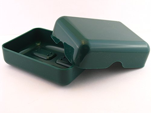 Goody Plastic Travel Soap Dish - Green (Dish Travel Plastic Soap)
