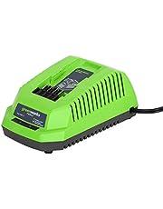 Save on Greenworks Tools 29417 40V Akku-Ladegerät (ohne Akku) and more