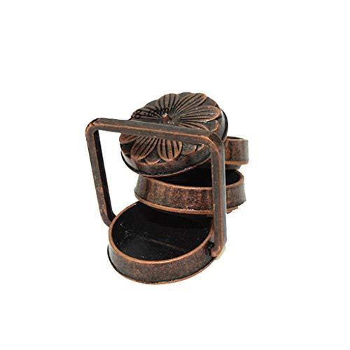 (NszzJixo9 1:12 Mini Lunch Box Doll House Accessories Dollhouse Mini Kitchen Cooking Alloy Rice Basket Lunch Box Model Miniature Tin)