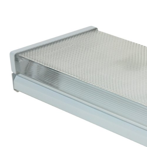 (2) Lamp F17T8 - 2 ft. - Surface Mount - Fluorescent Wrap Fixture - Prismatic Lens - 120 Volt - PLT 207A217S
