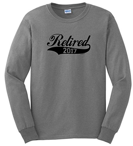Retirement Gift Ideas retirement Gift Basket Retirement Gifts Retired 2017 Retirement Gift Ideas Long Sleeve T-Shirt 2XL SpGry