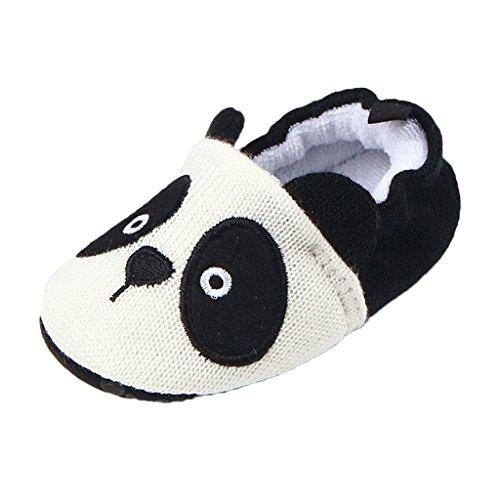 MagiDeal Baby Halbschuhe Sneaker rutschfest weiche Sohle Schuhe Lauflernschuhe Panda / Hund Panda