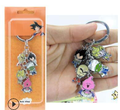 Amazon.com: Key Chains - Anime Dragon Ball Keychain Metal ...