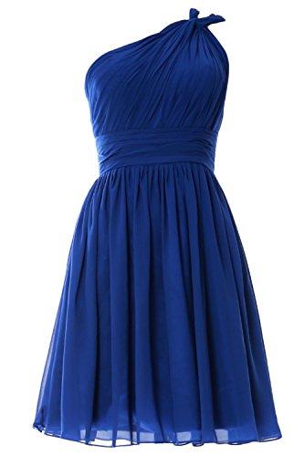 MACloth - Robe - Trapèze - Sans Manche - Femme -  bleu - 60