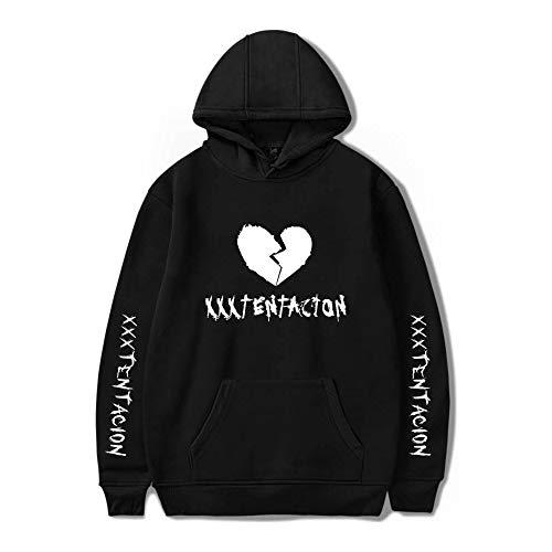 (Revenge Kill Hoodies Men/Women Casual Hip Hop Xxxtentacion Sweatshirt Vibes Forever Traksuit Fleece Pullover Hoody Black)