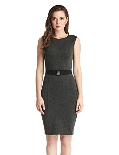 LookbookStore Womens Sleeveless Business Bodycon