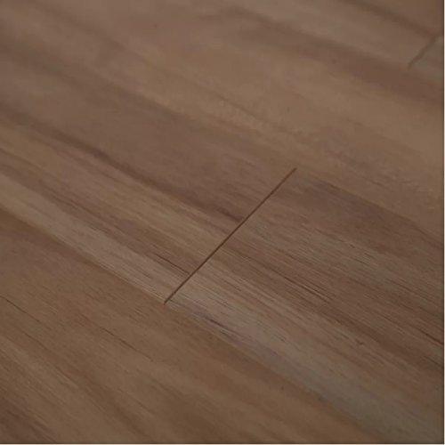 Dekorman 4008 Golden Eucalyptus High Gloss Laminate Flooring Length Planks (16.48 Sq. ft./Case), 12 mm, 48'' L x 5'' W, Thickness, per, Light Brown