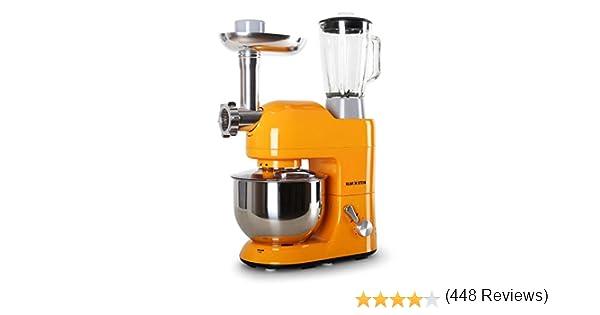 Klarstein Lucia Orangina 1200W 5L Naranja - Robot de cocina (5 L ...