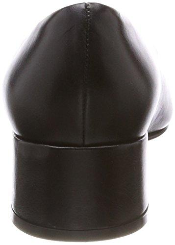 Mujer Nukika 101 NOE Antwerp Negro Cerrada Punta Zapatos de con Pump Tacón Nero para Oqv56qr