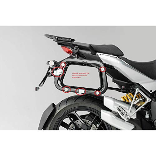 (SW-MOTECH Quick-Lock EVO Side Carrier to fit Many Side Case Types for Ducati Multistrada 1200, 1200S and 1200S GT '10-'14)
