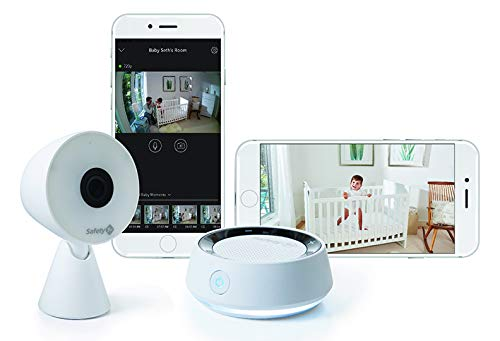 Safety 1st HD Wi-Fi Baby Monitor Camera with Sound- and Movement-Detecting Audio...