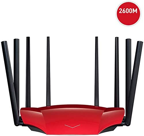 Free Game Accelerator Supports VPN//APP WQYRLJ AC2600M Full Gigabit Wireless Router WiFi Home High-Speed Wall Wang 3 Gigabit LAN Ports