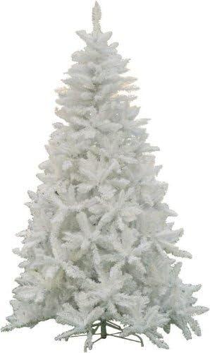 Albero Di Natale Bianco.Albero Di Natale Mod Sherwood Altezza 240 Cm Colore Bianco Amazon It Casa E Cucina