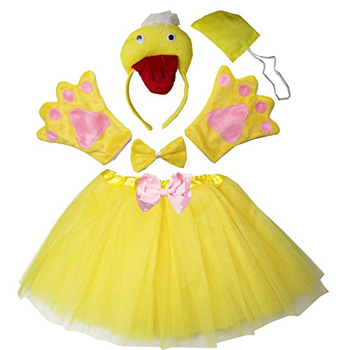 Kirei Sui Kids Costume Tutu Set Duck