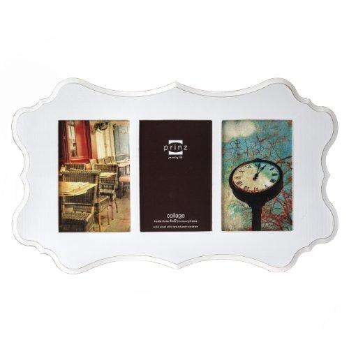 Prinz 3-Opening Annabelle White Ashwood Veneer Wood Collage