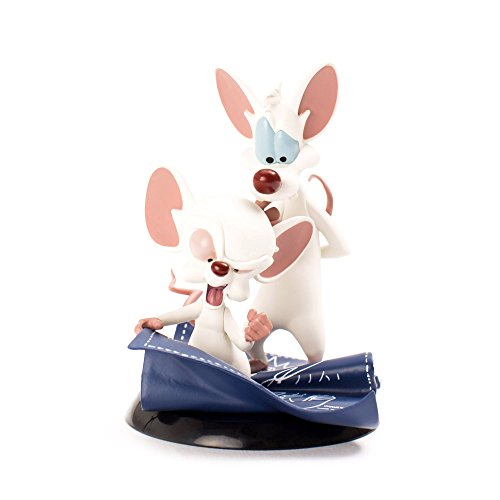 "QMx Warner Brothers Animated Pinky & the Brain Q-Fig Figure,Multi-colored,5"" from QMX"