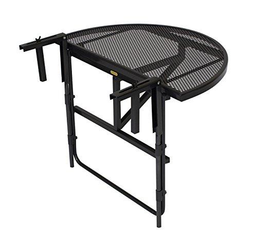 Balkonhängetisch grill  Amazon.de: Balkonhängetisch 70x42cm, Metall + Streckmetall anthrazit
