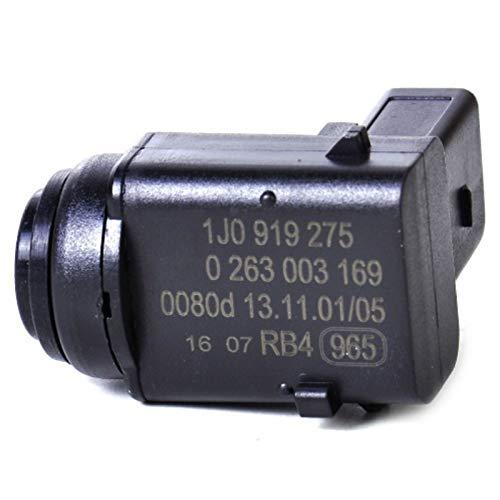 Semoic Sensor de Aparcamiento Pdc de Coche 1U0919275 1J0919275 para VW Seat Skoda Porsche Golf Touran Touareg: Amazon.es: Coche y moto