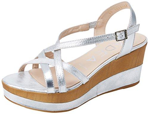 41071 Argenté Gadea Femme Jamaica Bout Plata Sandales Plata Opac Ouvert Plata Twn64q