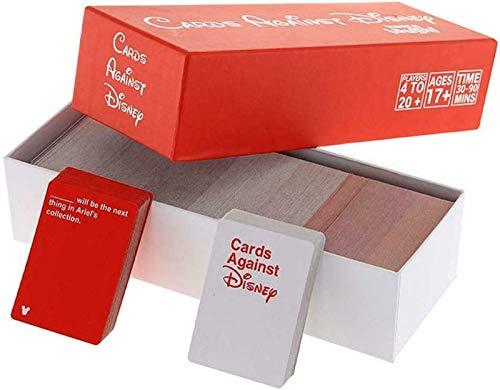 CADS Against Dis Edition Contains 828 Cards 260 Black Cards, 568 White Cards,Red
