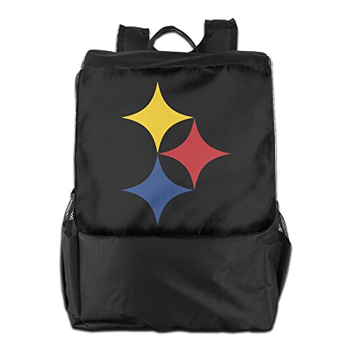 GTSOXI Outdoor Travel Backpack Bags - Steelers Lucky Star...