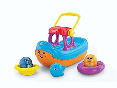 Fisher-price Topzy Tumblers Tubtime Tumblin Boat from Fisher-Price